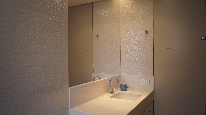 Residencial  Bruno Carvalho -> Banheiro Pequeno Pintado