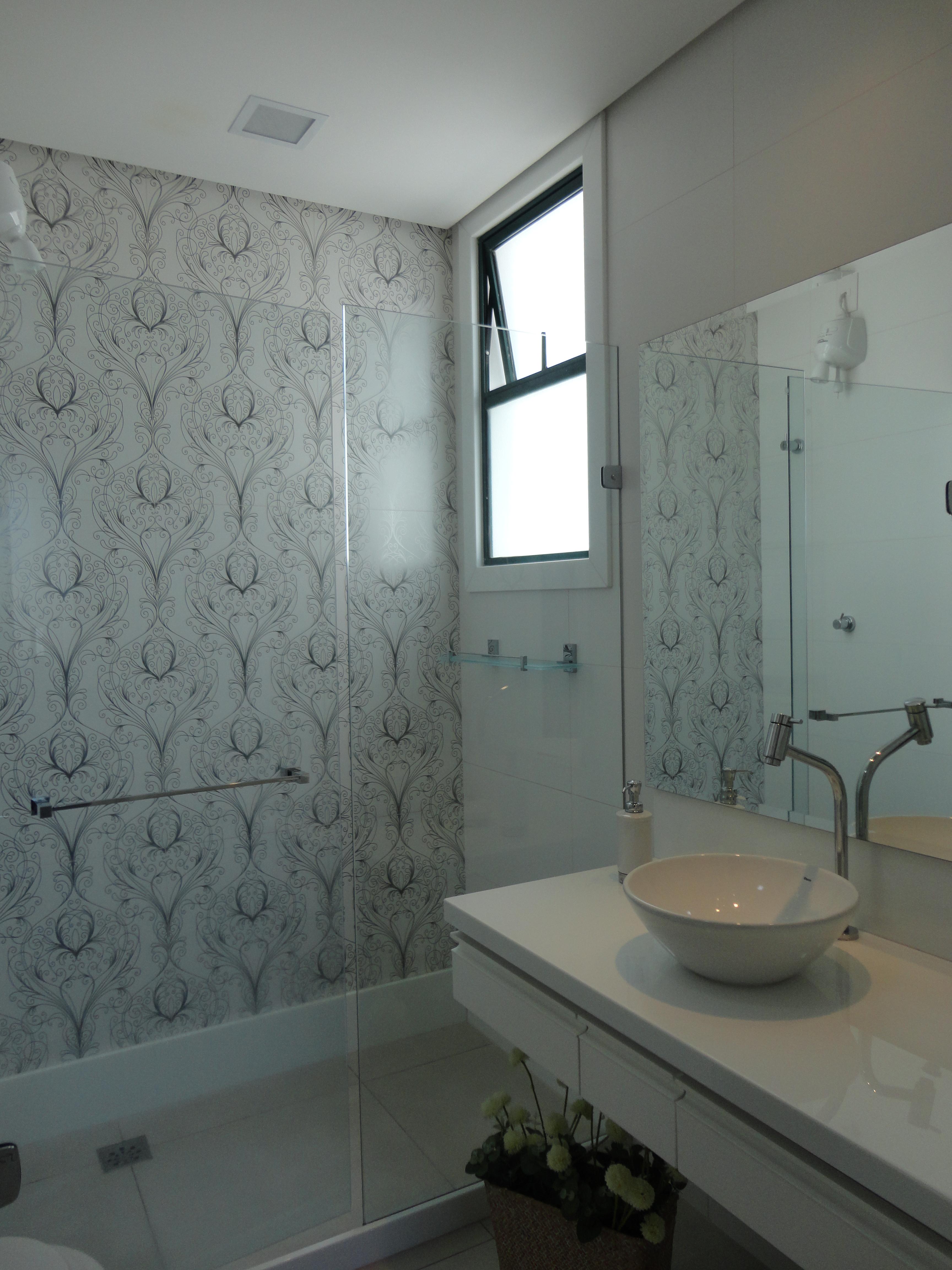 Banheiro  Bruno Carvalho -> Banheiro Pequeno Pintado